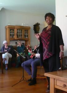 Denise Jannah zingt gedichten van Vasalis