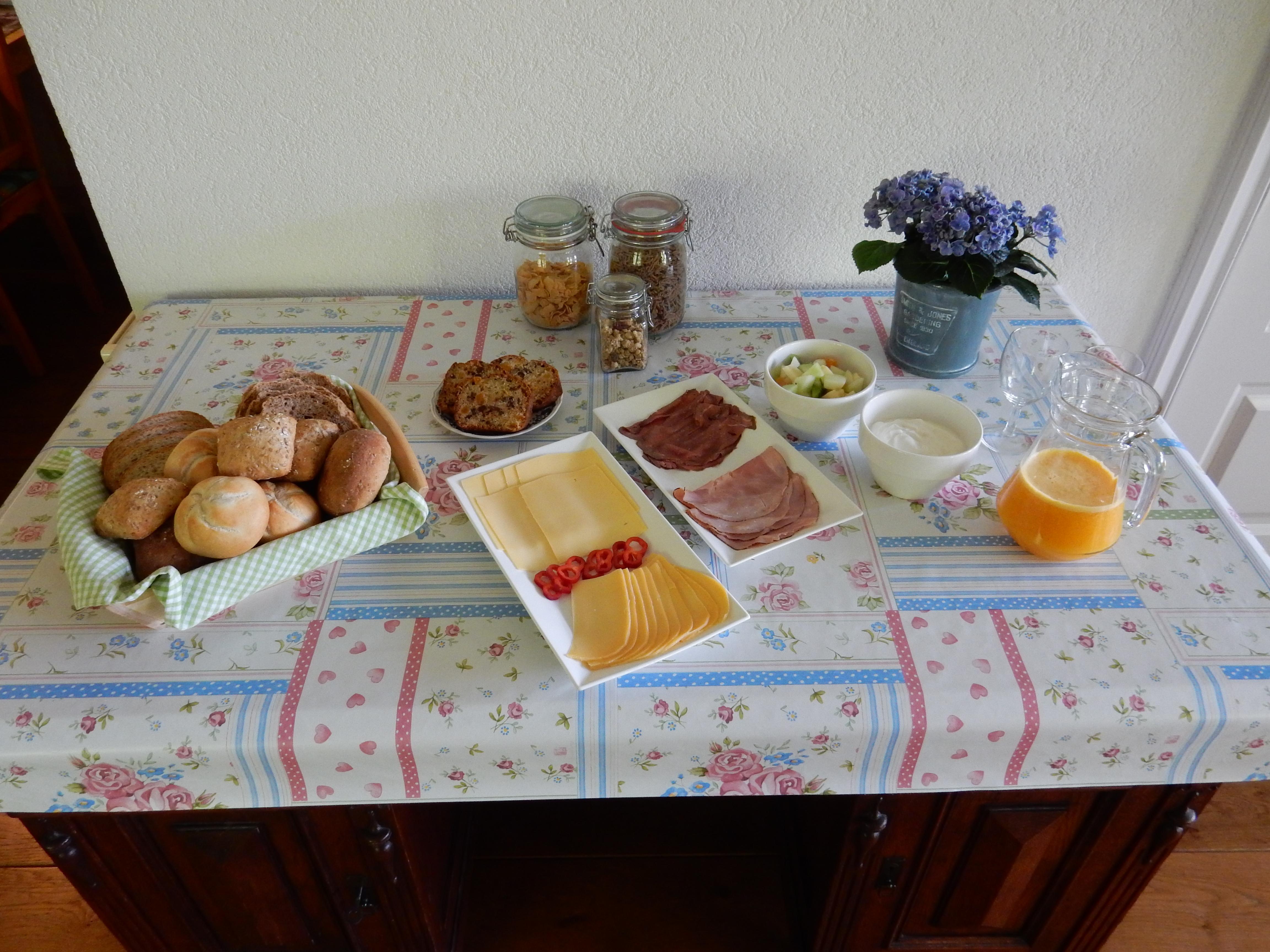 Het gevarieerde ontbijt